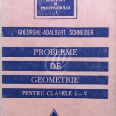 Probleme de geometrie pentru clasele I-V