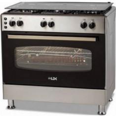 Aragaz LDK 6060 GRAI IX LPG, 5 Arzatoare, Aprindere electrica, Inox