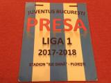 Acreditare fotbal - JUVENTUS Bucuresti (sezonul 2017-2018)
