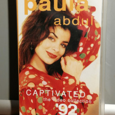 caseta VHS Originala cu PAULA ABDUL - CAPTIVATED (1991/VIRGIN/GERMANY) - ca Noua