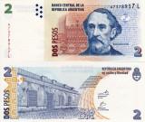 ARGENTINA 2 pesos 2012 UNC!!!