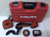 Polizor Unghiular pe Baterie Hilti AG 125-A22 Fabricație 2013, Acumulator