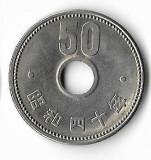 Moneda 50 yen 1965 - Japonia