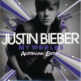 Justin Bieber My Worlds Australian Edition (cd)