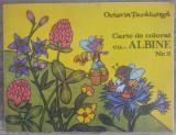 Carte de colorat cu albine, nr. 2// Octavia Taralunga