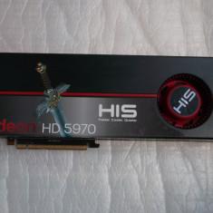 Placa video HIS Radeon HD5970 2GB GDDR5 2x 256-bit