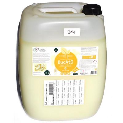 Detergent ecologic lichid vrac pentru rufe albe si colorate portocale 20L Biolu foto