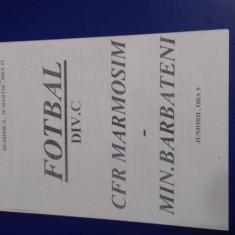 program       CFR  Marm.  Simeria   -  Minerul  Barbateni