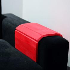 Suport pahar pentru maner canapea/fotoliu din lemn
