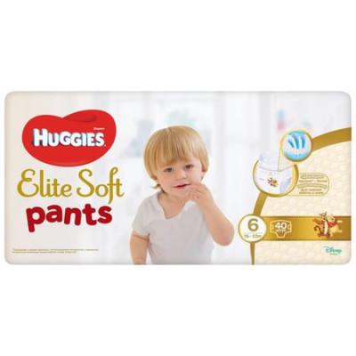 Scutece chilotel Huggies Elite Soft Pants Giga pack Nr.6, 16-22 kg, 38 buc foto