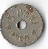 Moneda 5 bani 1905 - Romania