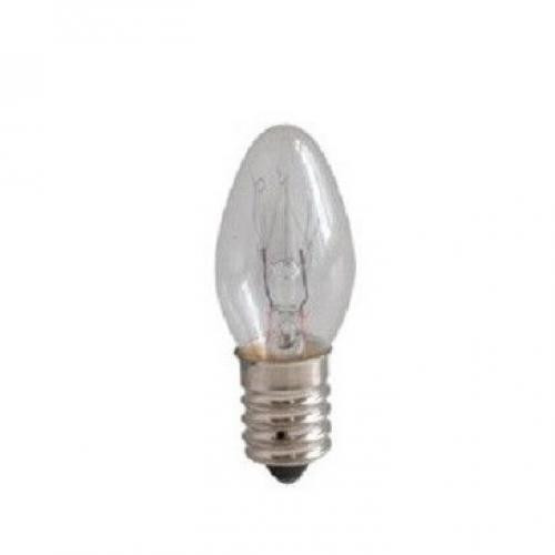 Bec C7 E12 , 7W incandescent ( bec lampa veghe )