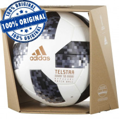 Minge fotbal Adidas Telstar World Cup 2018 - oficiala de joc - minge originala, 5, Gazon
