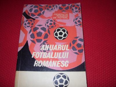 ANUARUL  FOTBALULUI  ROMANESC  ( 1967 - 1969 )  -  foarte rara, 429 pagini  * foto