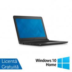 Laptop DELL Latitude 3350, Intel Core i5-5200U 2.20GHz, 8GB DDR3, 320GB SATA, Wireless, Bluetooth, Webcam, 13.3 Inch + Windows 10 Home