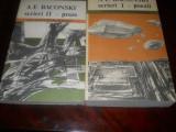 A.E.Baconski-Poezii-Proze- VOL.1 SI 2,1990, Carti Noi, Alta editura