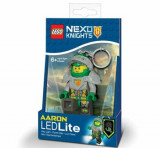 LEGO NEXO KNIGHTS, Breloc cu laterna - Aaron