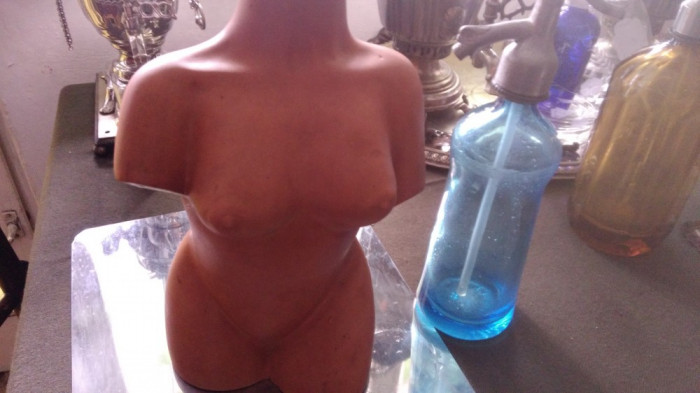 Vaza ceramica antropomorfa