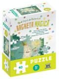 Cumpara ieftin Micul catel de usturoi si bagheta magica - puzzle/Lavinia Trifan