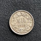a559 Elvetia 1/2 franc 1963