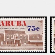 Aruba 1992 - Posta, serie neuzata