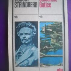 HOPCT  SALOANELE GOTICE/ AUGUST STRINDBERG- 1987-238  PAGINI