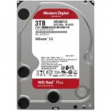 Hard Disk Red Plus 3TB SATA-III 5400RPM 128MB, Western Digital