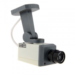 Camera supraveghere falsa cu senzor de miscare, LED