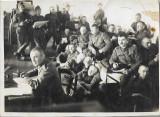 A546 Fotografie elevi militari romani artilerie 1931 poza veche