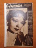 revista cinema 15 martie 1940-zarah leander,clark gable,danielle darrieux