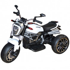 Motocicleta cu acumulator, 2 motoare, 6V