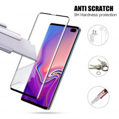 Folie sticla securizata curbata FULL GLUE Samsung Galaxy S10 , S10+ , S10 Plus
