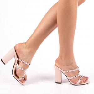 Papuci dama Timea roz