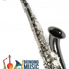Saxofon Tenor NEGRU+ARGINTIU Nou Karl Glaser Saxophone Si b Germania