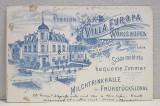 A. D XENOPOL CATRE ELIZA XENOPOL *, CARTE POSTALA ILUSTRATA , VILLA EUROPA WORISHOFEN , CIRCULATA , CLASICA , 1902