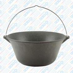 Ceaun Tuci din fontă cu toartă din inox, 7,2 litri
