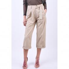 Pantaloni Bumbac Object Filuka 3/4 Culotte Bej