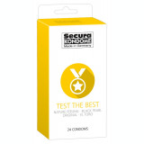 Prezervative Secura, Test the Best, 24 buc