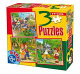 Cumpara ieftin Puzzle Basme, 3 in 1