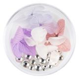 Cumpara ieftin Flori Uscate Unghii LUXORISE cu cristale - Floral Fairytale #18
