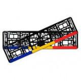 Suporti numar inmatriculare set 2buc - Romania ManiaMall Cars, Cridem