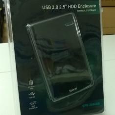 HDD Rack extern Spacer , 2.5inch, USB 2.0 , Black