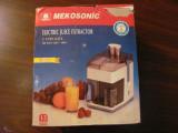 CY Storcator (mai) vechi fructe legume MEKOSONIC cu 2 cani pentru suc Germania