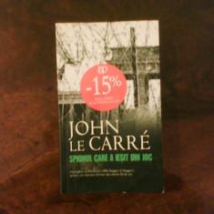John Le Carre Spionul care a iesit din joc