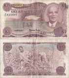1986 ( 1 III ) , 1 kwacha ( P-19a ) - Malawi