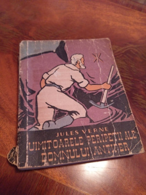 Uimitoarele Peripetii Ale Jupanului Antifer De Jules Verne Carte Rara 1959 foto