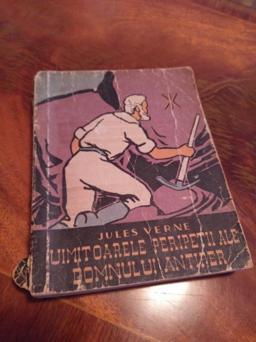 Uimitoarele Peripetii Ale Jupanului Antifer De Jules Verne Carte Rara 1959