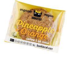 Prajiturica cu Ananas si Portocale Fara Gluten Bio 50gr Kookie Cat Cod: 3800232730495