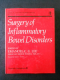 EMANOEL C. G. LEE - SURGERY OF INFLAMMATORY BOWEL DISORDERS