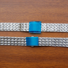 Bratari curele metalice pentru ceas cu latimea de 22mm